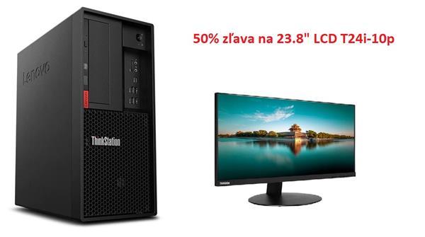 Lenovo TS P330 2gen TWR i7-9700 4.7GHz NVIDIA RTX4000/8GB 16GB 256GB SSD DVD W10Pro cierny 3y OS