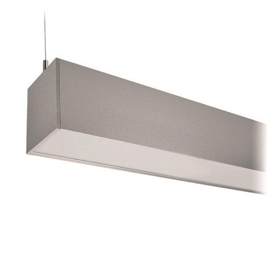 Solight LED lineárne závesné osvetlenie, 36W, 3060lm, 118cm, Lifud, 3 roky záruka, strieborná farba