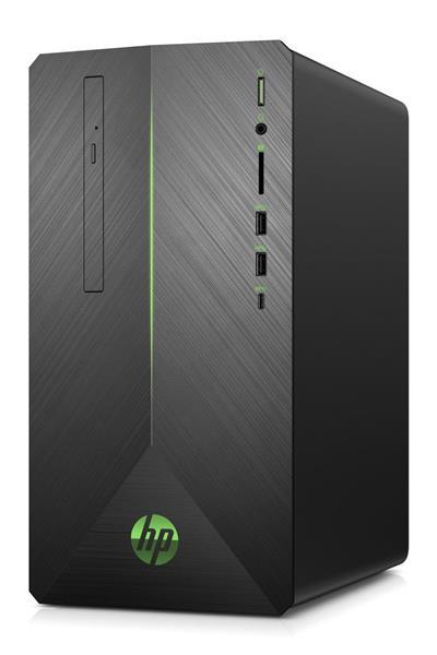 HP Pavilion Gaming 690-0023nc, i7-9700F, GTX1650/4GB, 16GB, SSD 256GB + 1TB 7k2, DVDRW, W10, 2/2/0