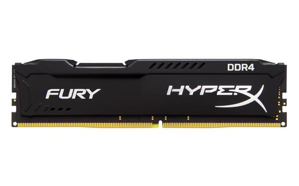 DDR 4.... 4GB . 2666MHz. CL16 HyperX FURY Black Kingston