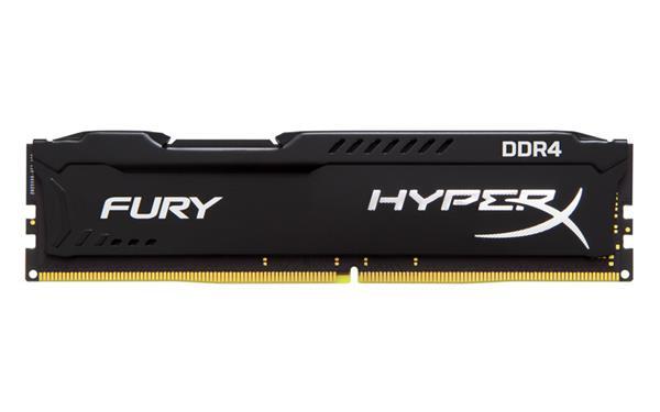 DDR 4.... 4GB . 2666MHz. CL16 HyperX FURY Black Kingston
