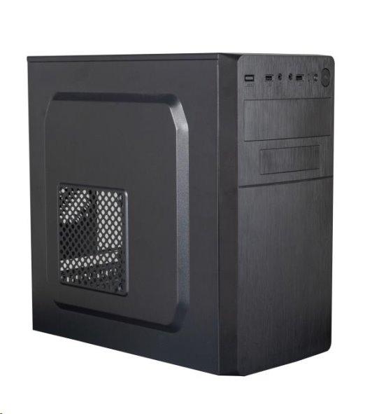 Eurocase MC X204 EVO, skrinka mATX, bez zdroja, USB3.0, 2xUSB2.0, čierna