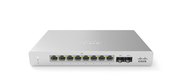 Meraki MS120-8 1G L2 Cloud Managed 8x GigE 67W PoE Switch more