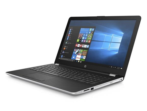 HP 15-bs015nc, Pentium N3710, 15.6 FHD, Intel HD, 4GB, 256GB SSD, DVD-RW, W10, 2y, Natural silver