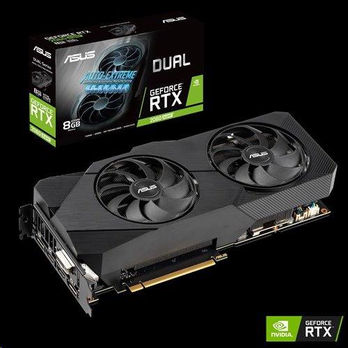 ASUS DUAL-RTX2060S-8G-EVO 8GB/256-bit GDDR6 DVI 2xHDMI 2xDP