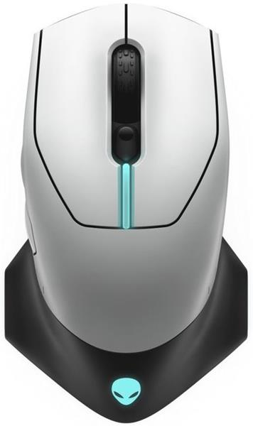Alienware Wired / Wireless Gaming Mouse - AW610M (Lunar Light)