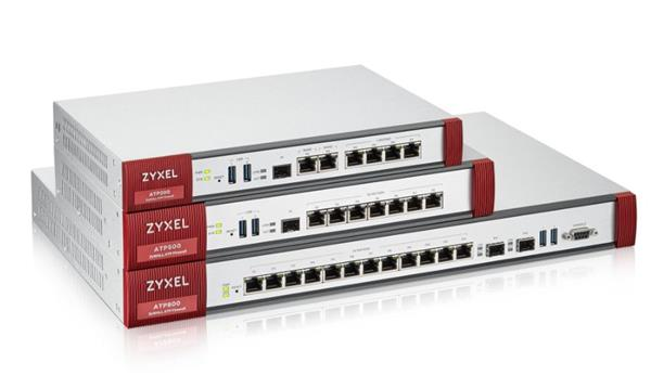Zyxel Zyxel ATP100 10/100/1000, 1*WAN, 4*LAN/DMZ ports, 1*SFP, 1*USB with 1 Yr Bundle