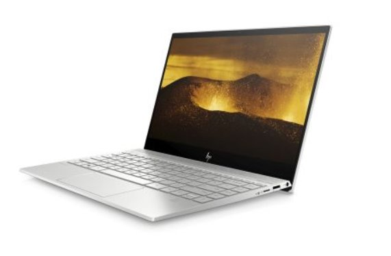HP ENVY 13-aq0105nc, i7-8565U, 13.3 FHD/IPS, MX250/2GB, 16GB, SSD 512GB, noODD, W10, 2-2-2, Natural silver