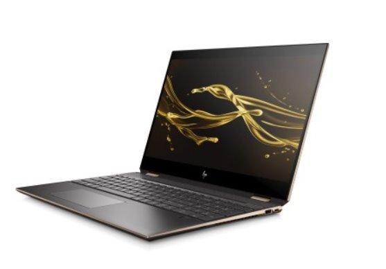 HP Spectre x360 15-df0102nc, i7-8565U, 15.6 UHD/IPS/Touch, MX150/2GB, 16GB, SSD 1TB+32GB, noODD, W10, 2-2-2, Dark ash si