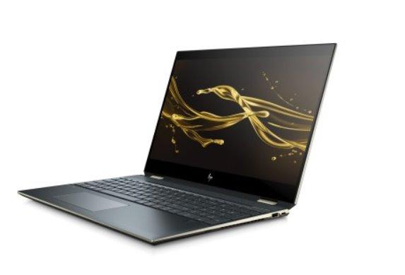 HP Spectre x360 15-df0105nc, i7-8565U, 15.6 UHD OLED/IPS/Touch, MX150/2GB, 16GB, SSD 1TB+32GB, noODD, W10, 2-2-2, Poseid