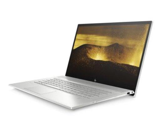 HP ENVY 17-ce0103nc, i5-8265U, 17.3 FHD/IPS, MX250/2GB, 16GB, SSD 1TB, DVDRW, W10, 2-2-2, Natural silver