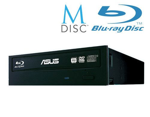 ASUS BLURAY Writer BW-16D1HT/BLK/B/AS, Bulk, čierna