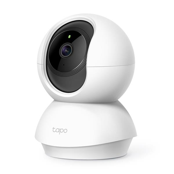 TP-LINK Tapo C200 Pan/Tilt Home Security WiFi Camera, Day/Night view, 1080p Full HD resolution, Micro SD card storage