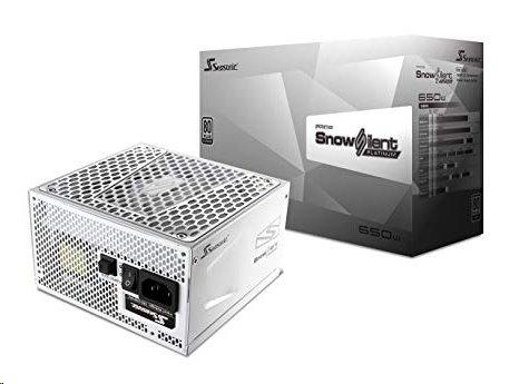 Zdroj 650W, Seasonic PRIME Snow 650 Platinum (SSR-650PD2) 80+ Platinum