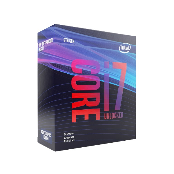 Intel® Core™i7-9700KF processor, 3,60GHz,12MB,LGA1151 BOX, bez chladiča
