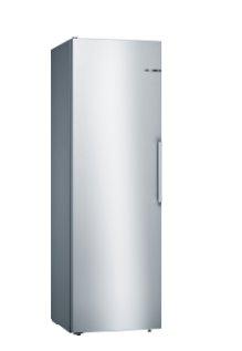 BOSCH_Chladnicka Serie | 4, Voľne stojaca chladnička, 186 x 60 cm, inox look
