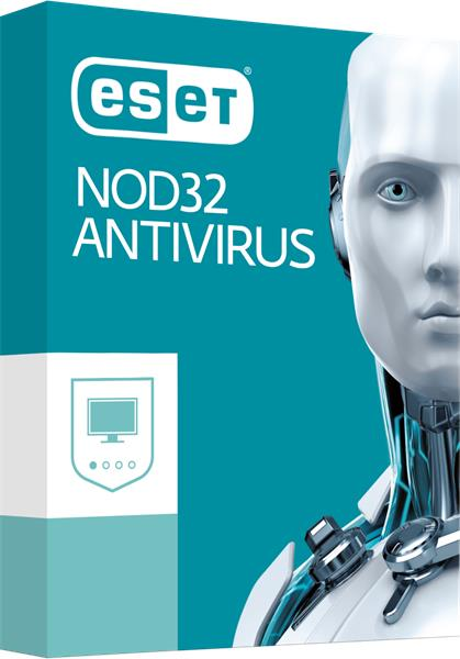 BOX ESET NOD32 Antivirus pre 4PC / 1rok