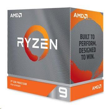 AMD, Ryzen 9 3950X, Processor BOX, soc. AM4, 105W, bez chladiča