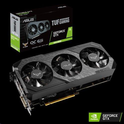 ASUS TUF3-GTX1660S-O6G-GAMING 6GB/192-bit, GDDR6, DVI, HDMI, DP