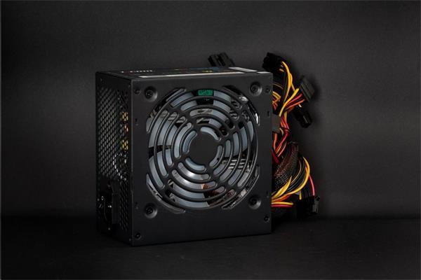 Zdroj 550W 1stCOOL RAINBOW STORM 550, účinnosť 85+, 12cm ARGB fan,