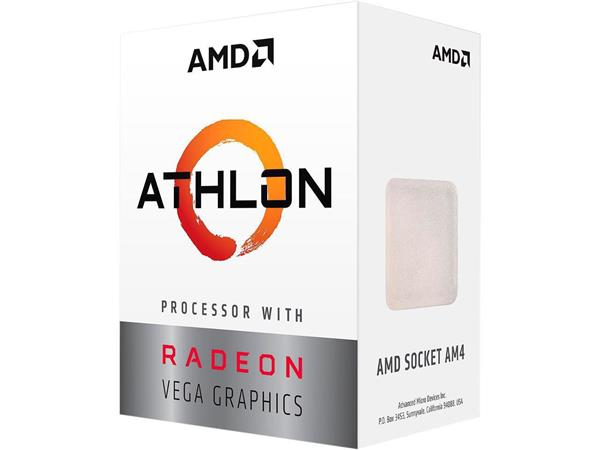 AMD, Athlon 3000G Processor BOX, soc. AM4, 35W, Radeon Vega 3 Graphics