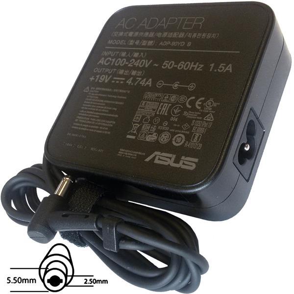 ASUS AC NAPÁJACÍ ADAPTÉR 90W 19V 3pin (5.5mm) -neobsahuje PW CORD CEE