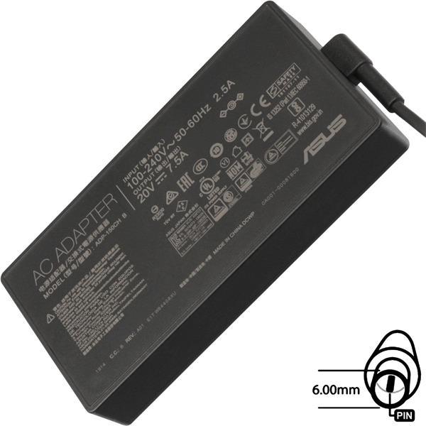 ASUS AC NAPÁJACÍ ADAPTÉR 150W 20V 3pin (6.0 mm) -neobsahuje PW CORD CEE