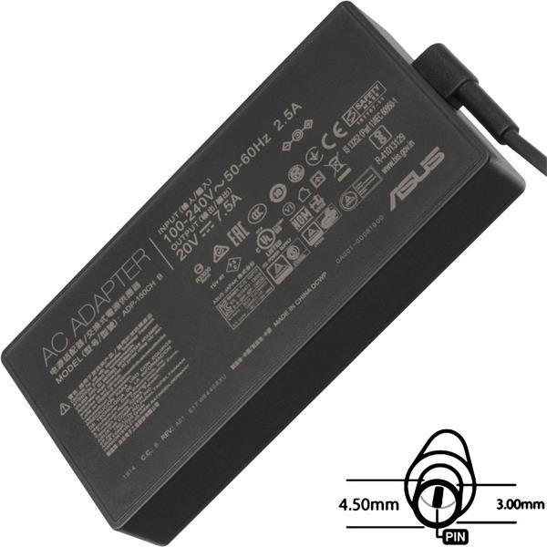 ASUS AC NAPÁJACÍ ADAPTÉR 150W 20V 3pin (4.5 mm) -neobsahuje PW CORD CEE