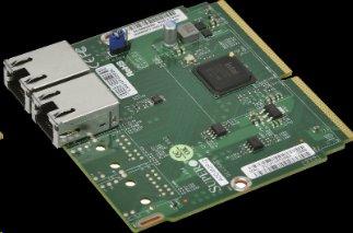 Supermicro/AOC-MGP-i2, DualGigabit Ethernet - MicroLP 2-port GbE card based on Intel i350