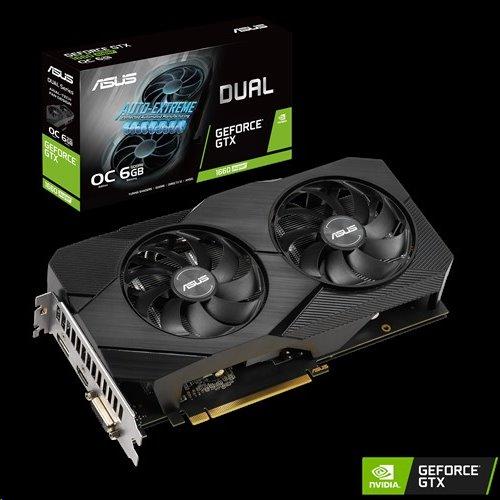 ASUS DUAL-GTX1660S-O6G-EVO 6GB/192-bit, GDDR6, DVI, HDMI, DP
