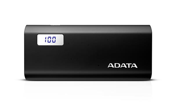 A-DATA Power Bank P12500D, 12500mAh, čierny