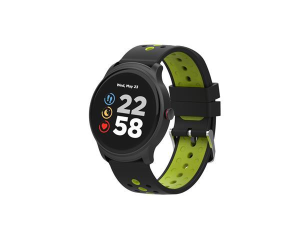 Canyon CNS-SW81BG Oregano smart hodinky, BT, fareb. LCD displej 1.3´´, vodotes. IP68, multišport. režim, zeleno - čier