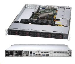 Supermicro Server AMD AS-1114S-WTRT AMD EPYC™ 7002-Series 1U rack