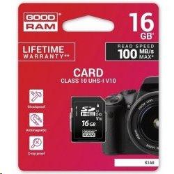 16 GB . SDHC karta GOODRAM Class 10 UHS I