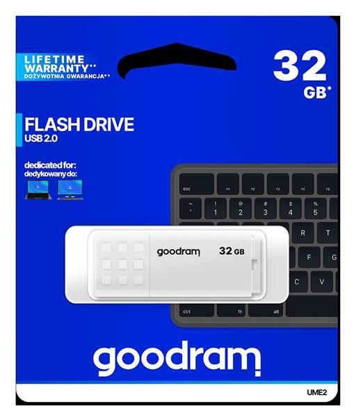32 GB . USB kľúč . GOODDRIVE Biela