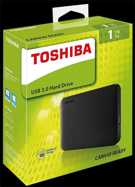 TOSHIBA CANVIO Ready 2,5