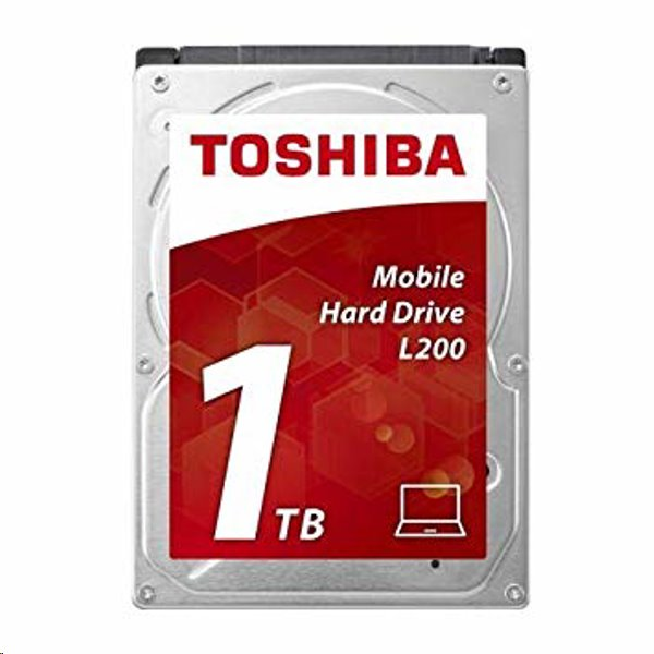Toshiba HDD Mobile L200, 1TB 5400rpm, 8 MB, SATA 3Gb/s, 2.5