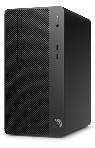 HP 290 G3 MT, i3-9100, Intel HD, 4GB, HDD 1 TB, DVDRW, W10Pro, 1-1-1