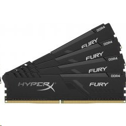 DDR 4.... 128GB . 2666MHz. CL16 HyperX FURY Black Kingston (4x32GB)