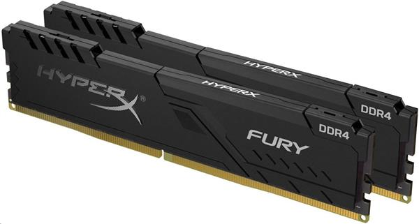 DDR 4.... 64GB . 3000MHz. CL16 HyperX FURY Black Kingston (2x32GB)