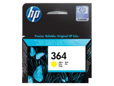 HP 364 Yellow Inkjet Print Cartridge
