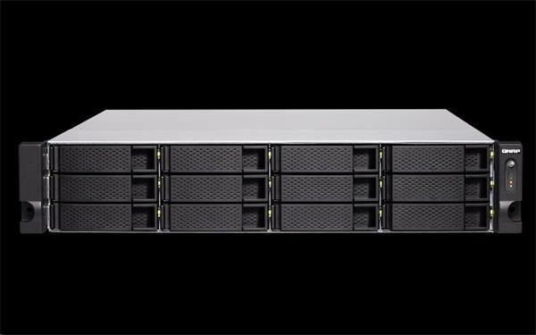 QNAP™ TS-1277XU-RP-2600-8G 12x3.5