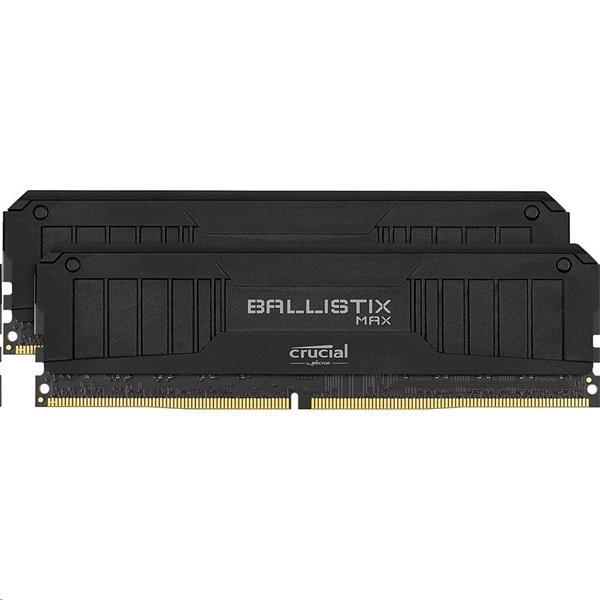 16GB (2x8GB) DDR4 4000 MT/s CL18 Crucial Ballistix MAX UDIMM 288pin, black