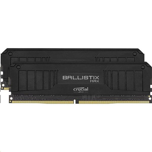 64GB (2x32GB) DDR4 3600 MT/s CL16 Crucial Ballistix UDIMM 288pin, black