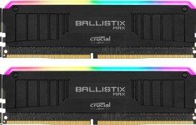 16GB (2x8GB) DDR4 3000 MT/s CL15 Crucial Ballistix MAX RGB UDIMM 288pin, black
