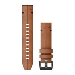 Kožený remienok QuickFit™ 22 na zápästie fénix 6 - Chestnut Leather (ND
