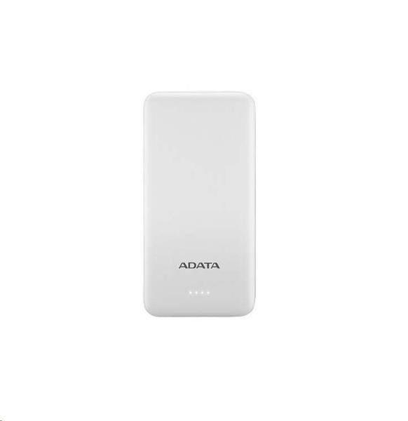 A-DATA Power Bank T10000, 10000mAh, biely