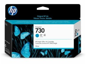 HP 730 130-ml Cyan DesignJet Ink Cartridge
