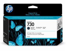HP 730 130-ml Matte Black DesignJet Ink Cartridge