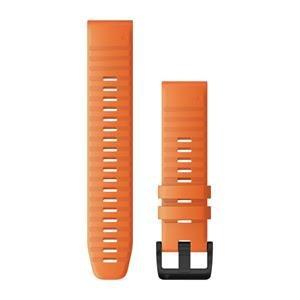 Silikonový remienok QuickFit™ 22 na zápästie fénix 6 - Ember Orange (ND)